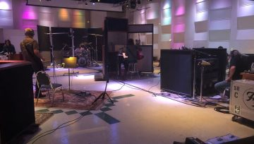 Foo Fighters at EastWest Studios